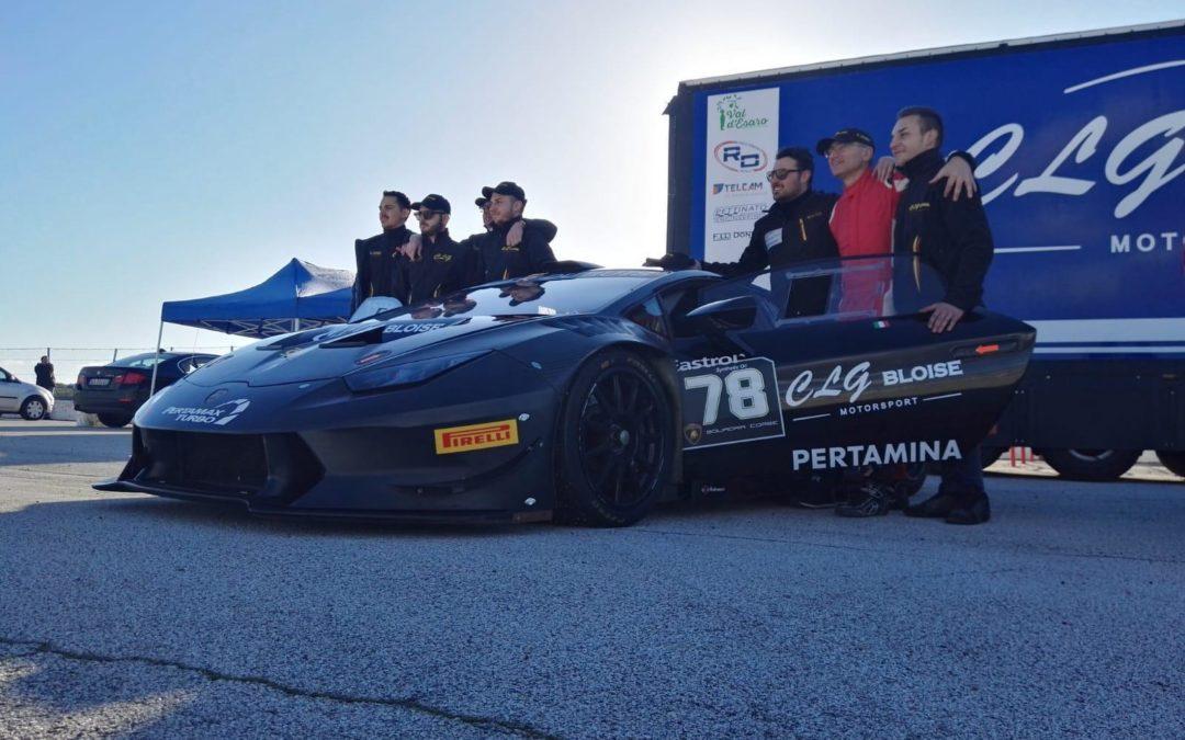 CLG Bloise Motorsport in pista a Franciacorta con il 'deb di lusso' Simone Iaquinta