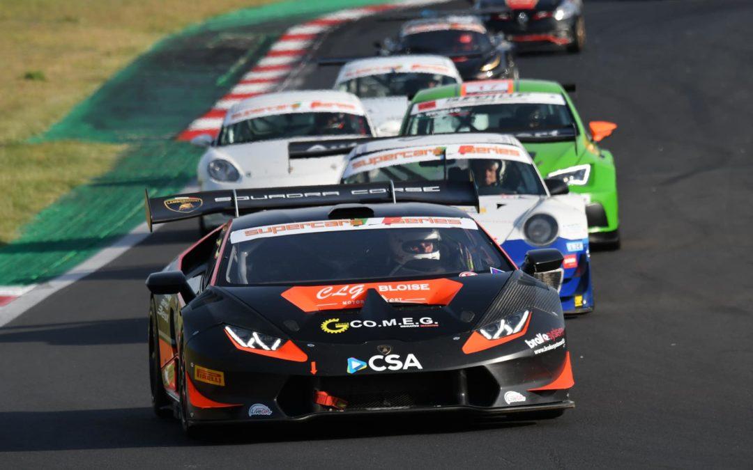 Prestazione super per Benny Strignano e il team CLG Bloise Motorsport a Vallleunga